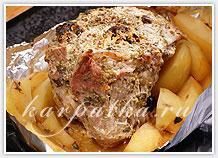запеченое мясо